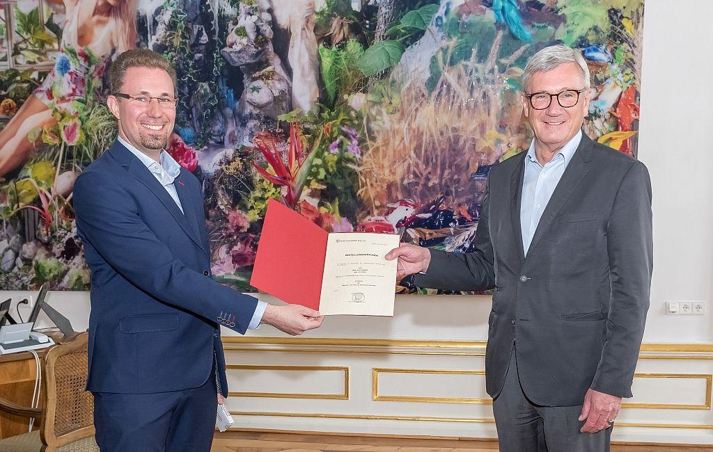 Mag. Ulrich Roider zum Amtsleiter u.a. für Wasser- und Fischereirecht bestellt